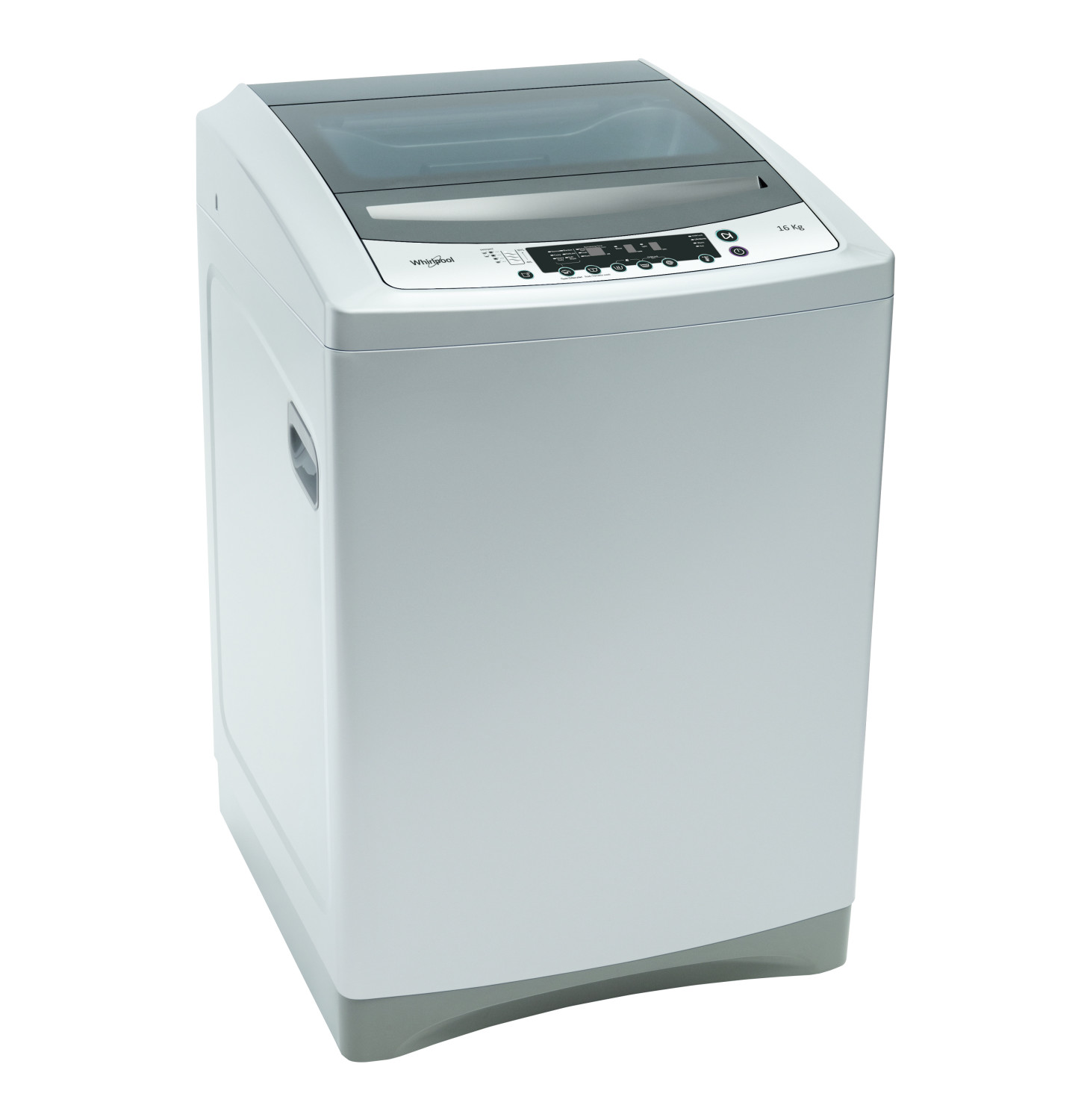Buy Whirlpool 16kg Silver Top Loader Washing Machine