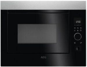 Buy Aeg Built In Microwave 25 37l Mbe2658d M Online