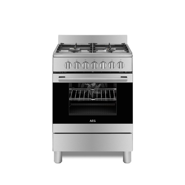 Buy Aeg 60cm Freestanding Gas Electric Cooker 10366mm Mn