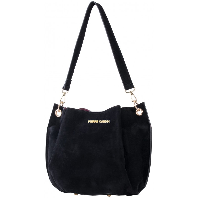 cheaper official shop great quality Buy Pierre Cardin Alex Hobo Handbag - Black Online | Metro Home ...