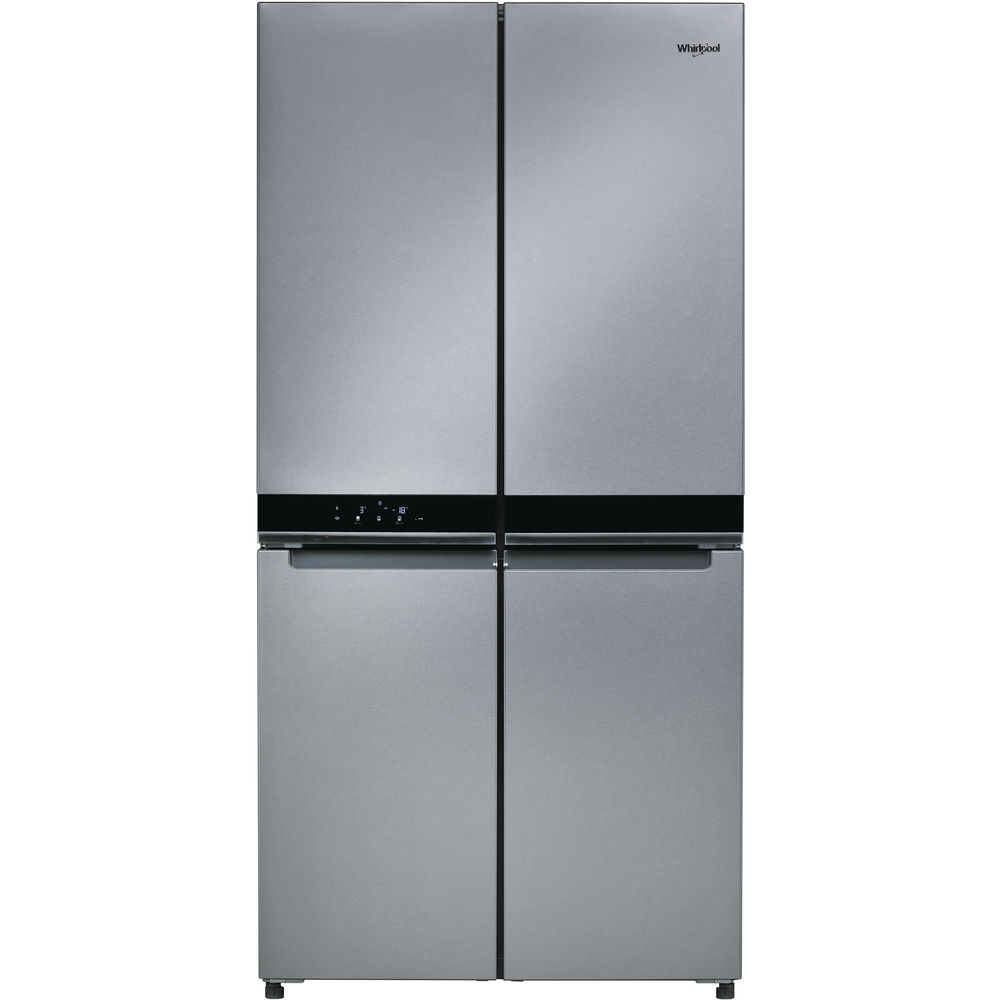 Buy Whirlpool W Collection Stainless Steel Fridge Freezer Wq9b1luk Online Metro Home Centre South Africa